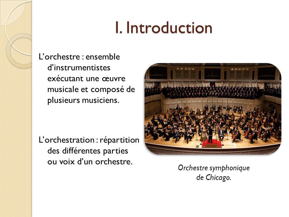 Orchestre symphonique de Chicago.