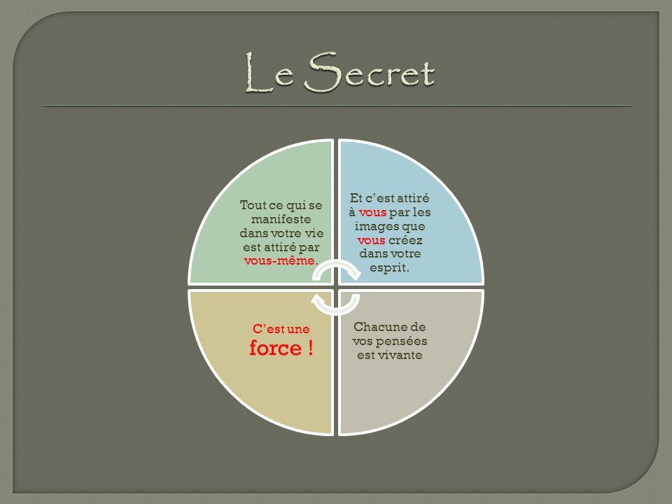 Le Secret C'est une force !