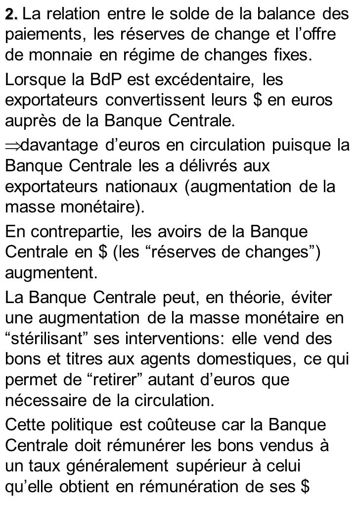2. IS LM BP en changes flexibles