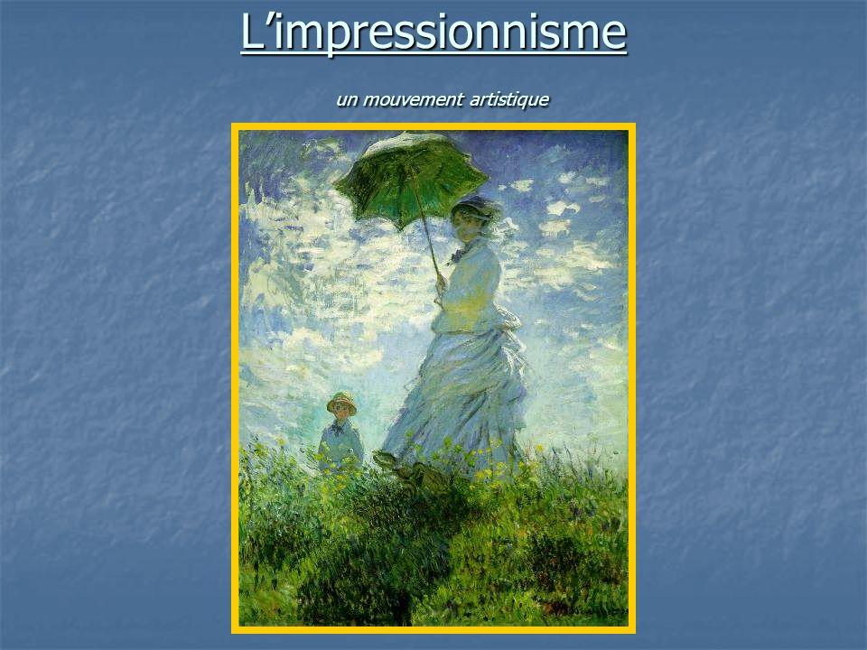 L'impressionnisme un mouvement artistique