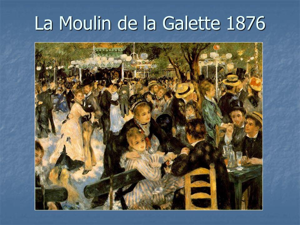 La Moulin de la Galette 1876