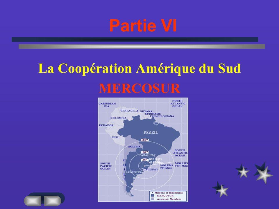 La Coopération Amérique du Sud