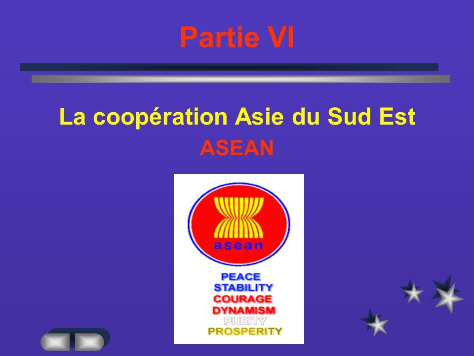 La coopération Asie du Sud Est