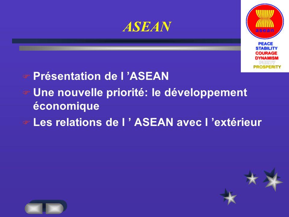 ASEAN Présentation de l 'ASEAN