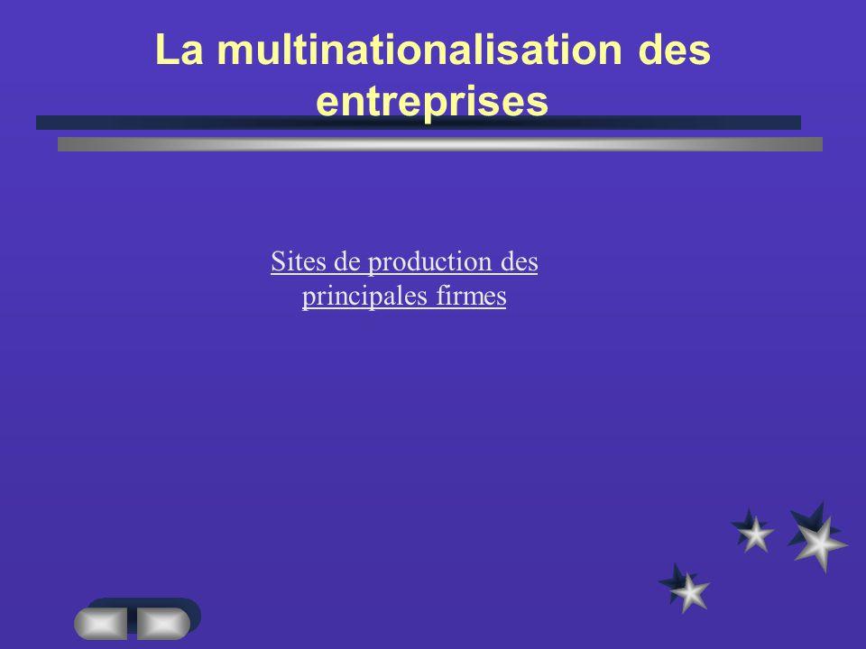 La multinationalisation des entreprises