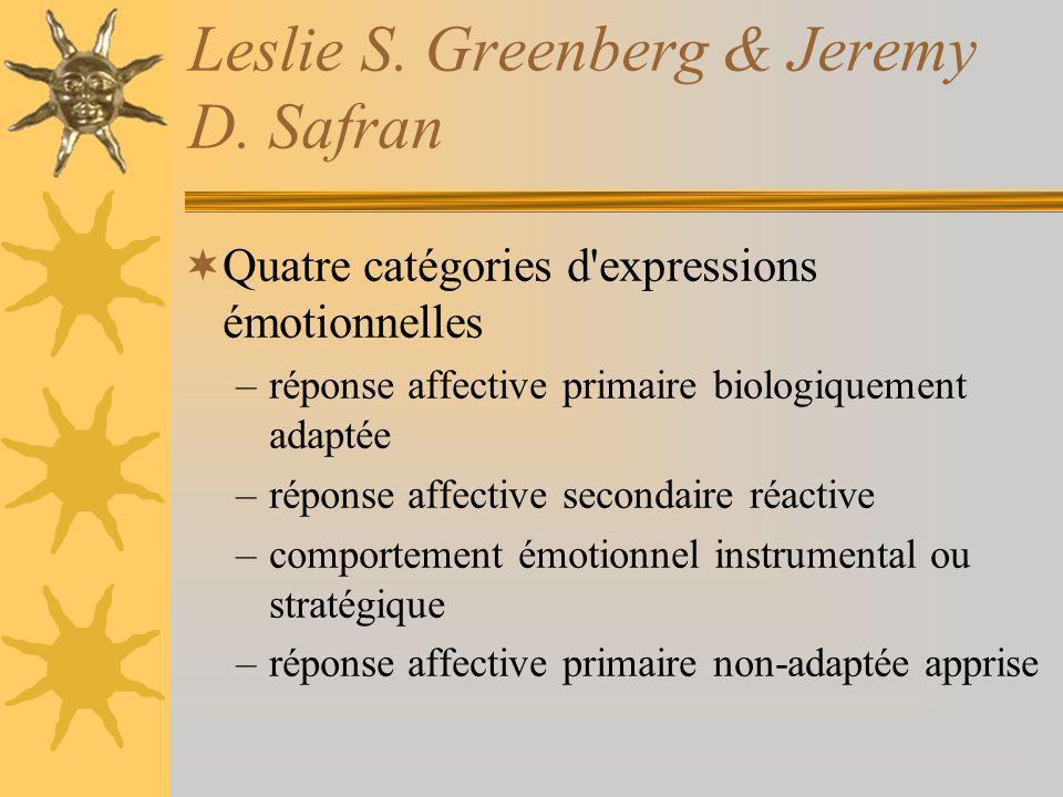 Leslie S. Greenberg & Jeremy D. Safran