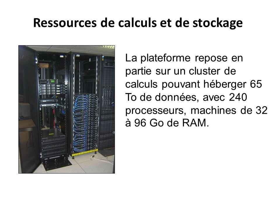 Ressources de calculs et de stockage