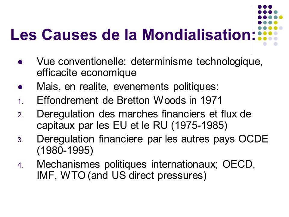 Les Causes de la Mondialisation:
