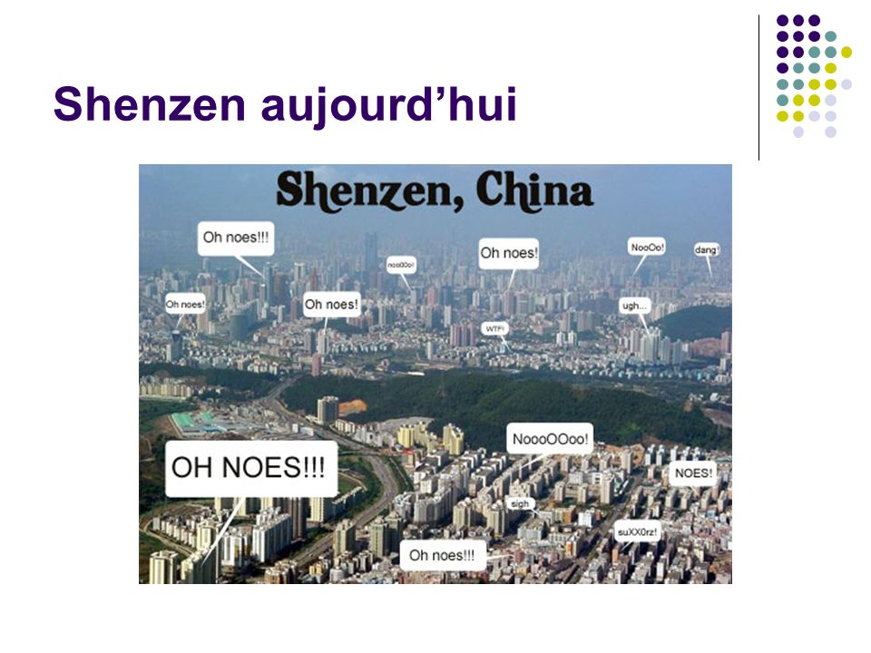 Shenzen aujourd'hui
