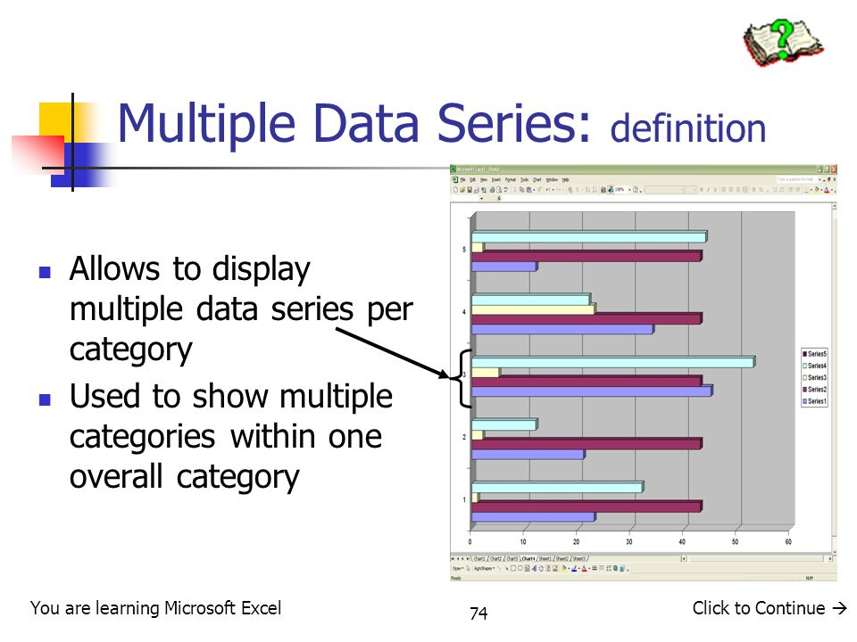 Multiple Data Series: definition