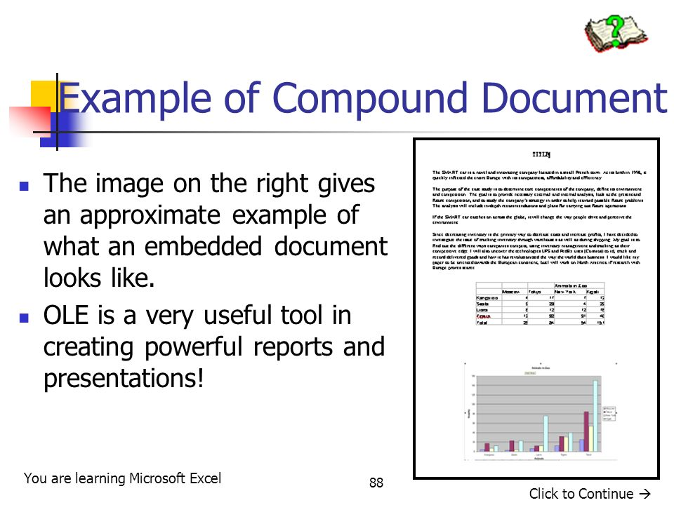 Example of Compound Document