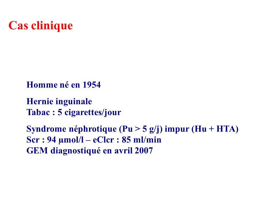 Cas clinique Homme né en 1954 Hernie inguinale