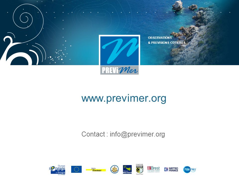 Contact : info@previmer.org