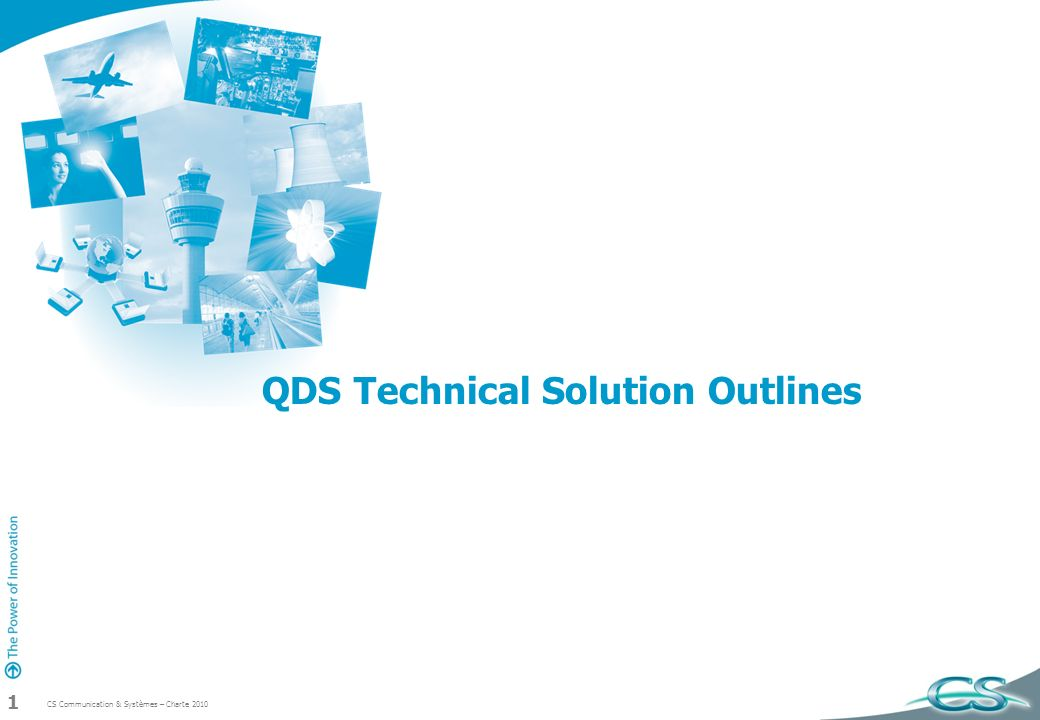 QDS Technical Solution Outlines