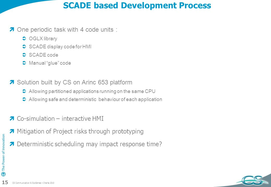 SCADE based Development Process