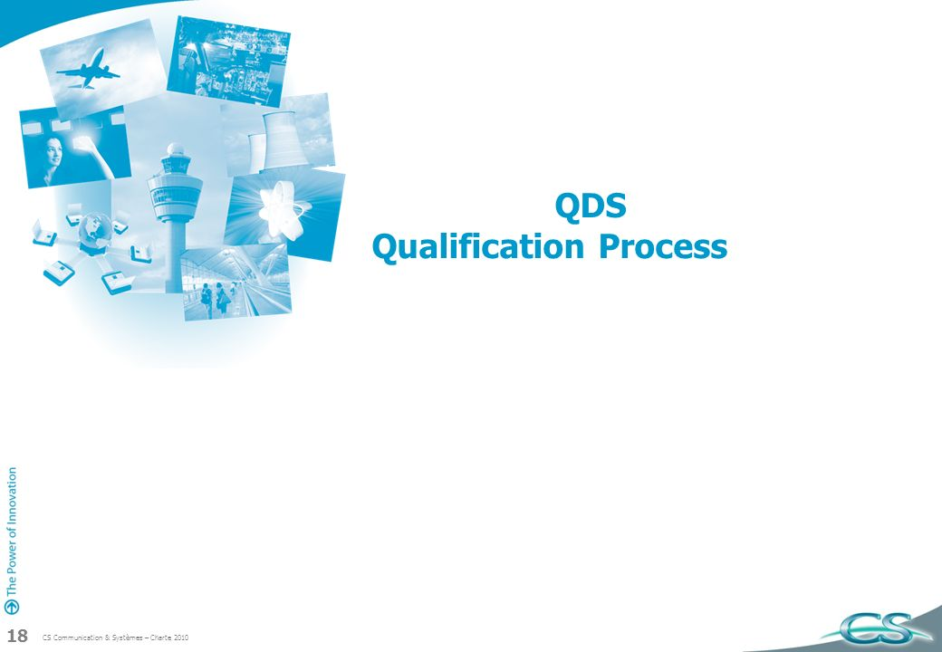 QDS Qualification Process