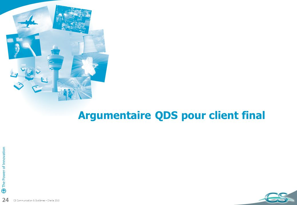 Argumentaire QDS pour client final