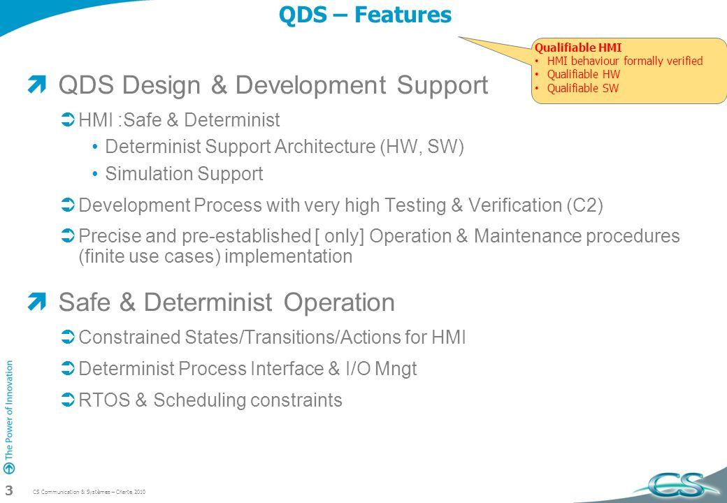 QDS Design & Development Support