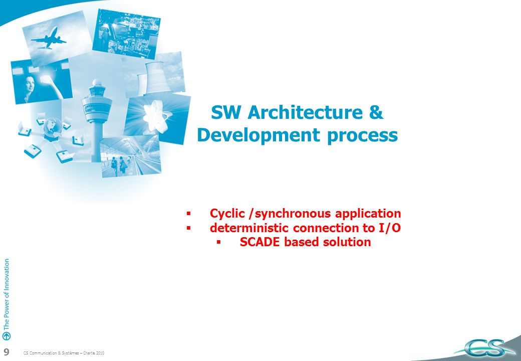 SW Architecture & Development process
