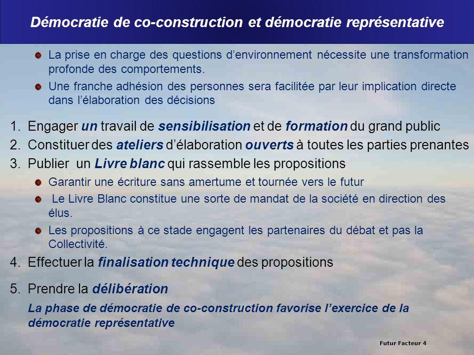 Démocratie de co-construction et démocratie représentative