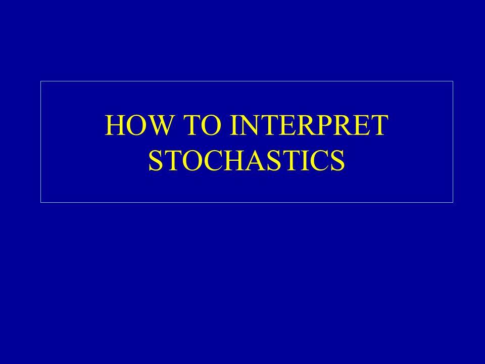 HOW TO INTERPRET STOCHASTICS