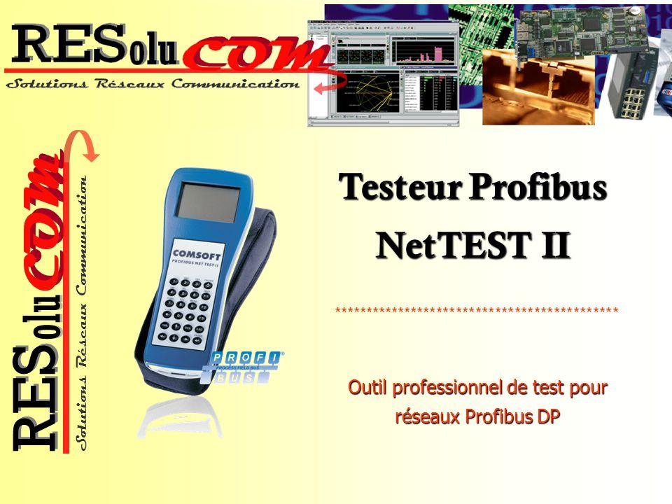 Testeur Profibus NetTEST II