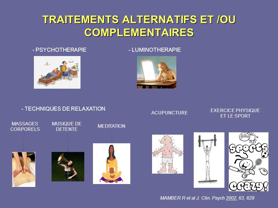 TRAITEMENTS ALTERNATIFS ET /OU COMPLEMENTAIRES