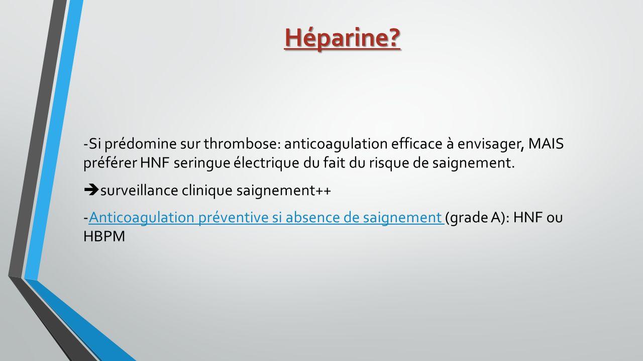 Héparine