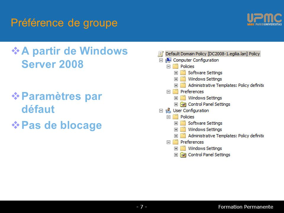 A partir de Windows Server 2008