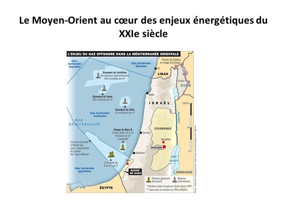 Le Moyen-Orient au cœur des enjeux énergétiques du XXIe siècle