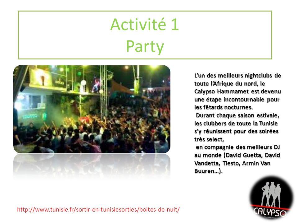 Activité 1 Party