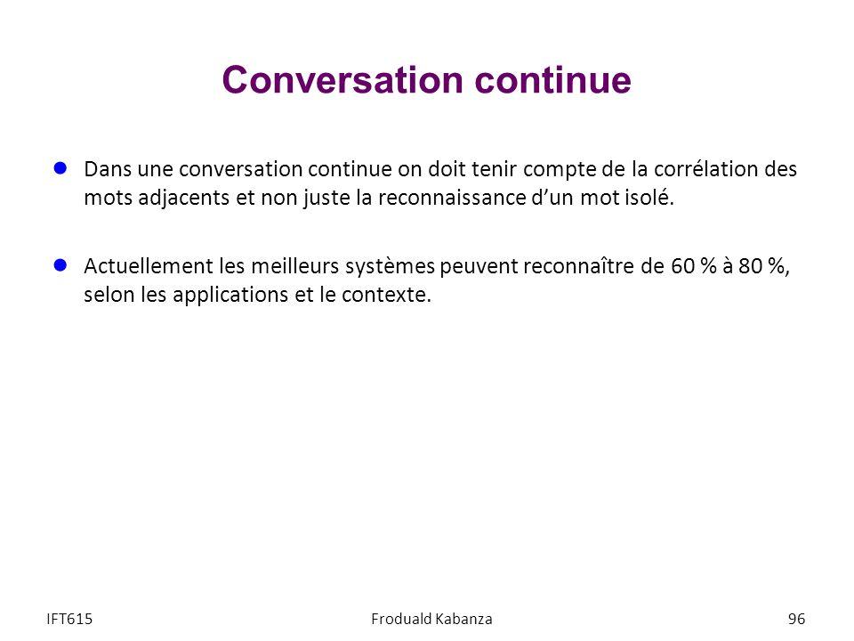 Conversation continue