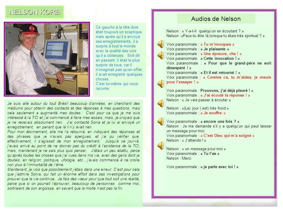 NELSON KORB Audios de Nelson