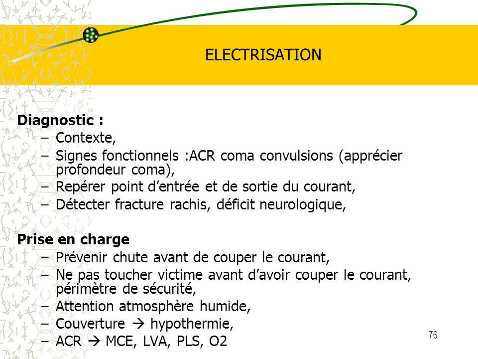 ELECTRISATION Diagnostic : Contexte,