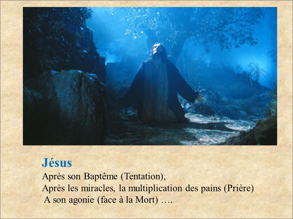 Jésus Après son Baptême (Tentation),
