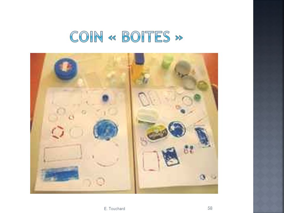 Coin « boites » E. Touchard