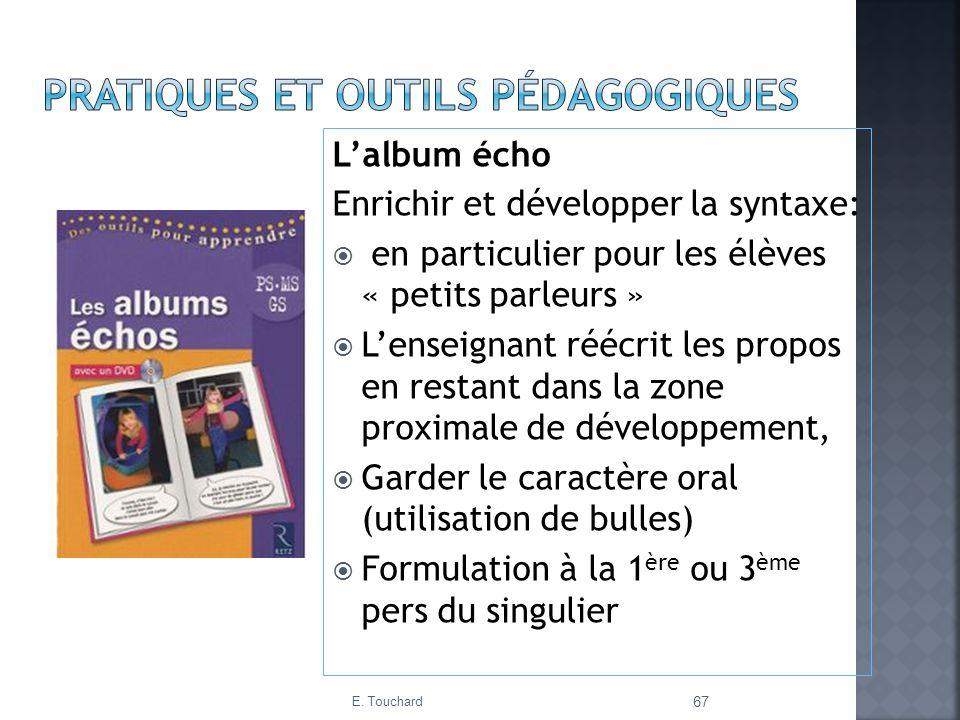 pratiques ET outils pédagogiques