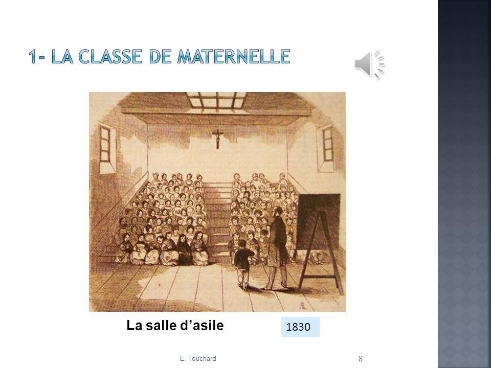 1- LA CLASSE DE MATERNELLE