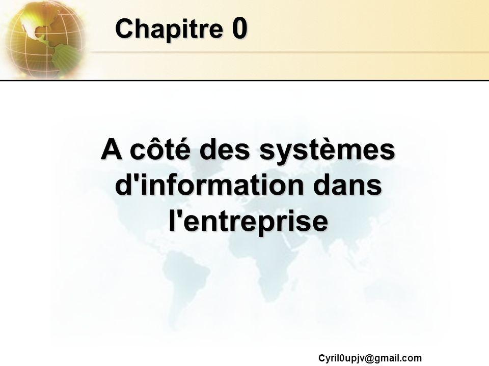A côté des systèmes d information dans l entreprise