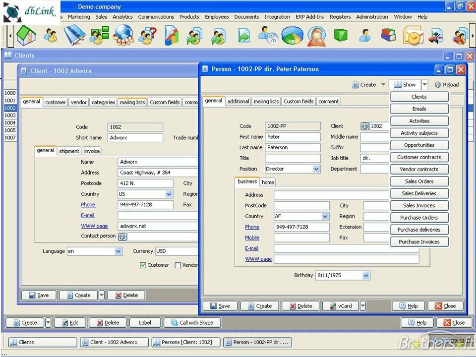 Exemple d'outil : le CRM