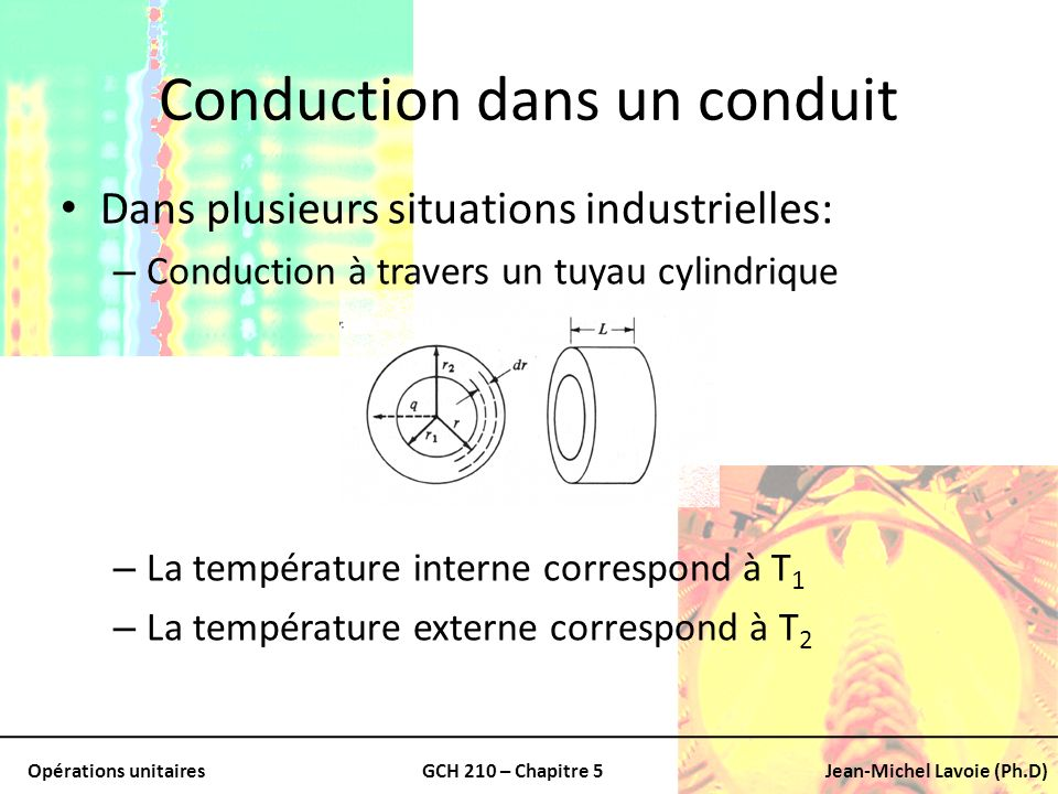 Conduction dans un conduit