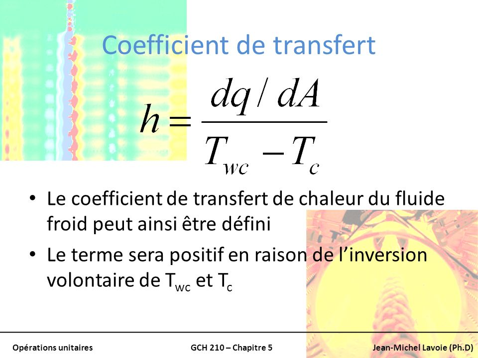 Coefficient de transfert