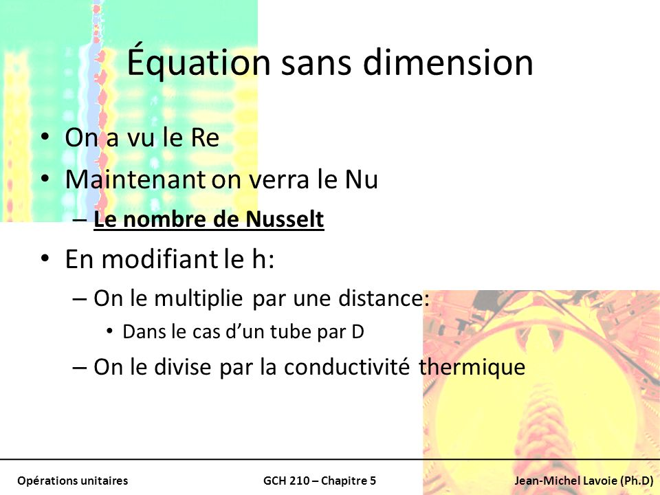 Équation sans dimension
