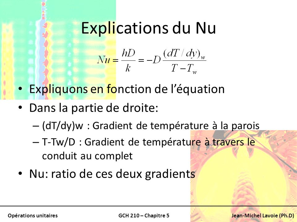 Explications du Nu Expliquons en fonction de l'équation