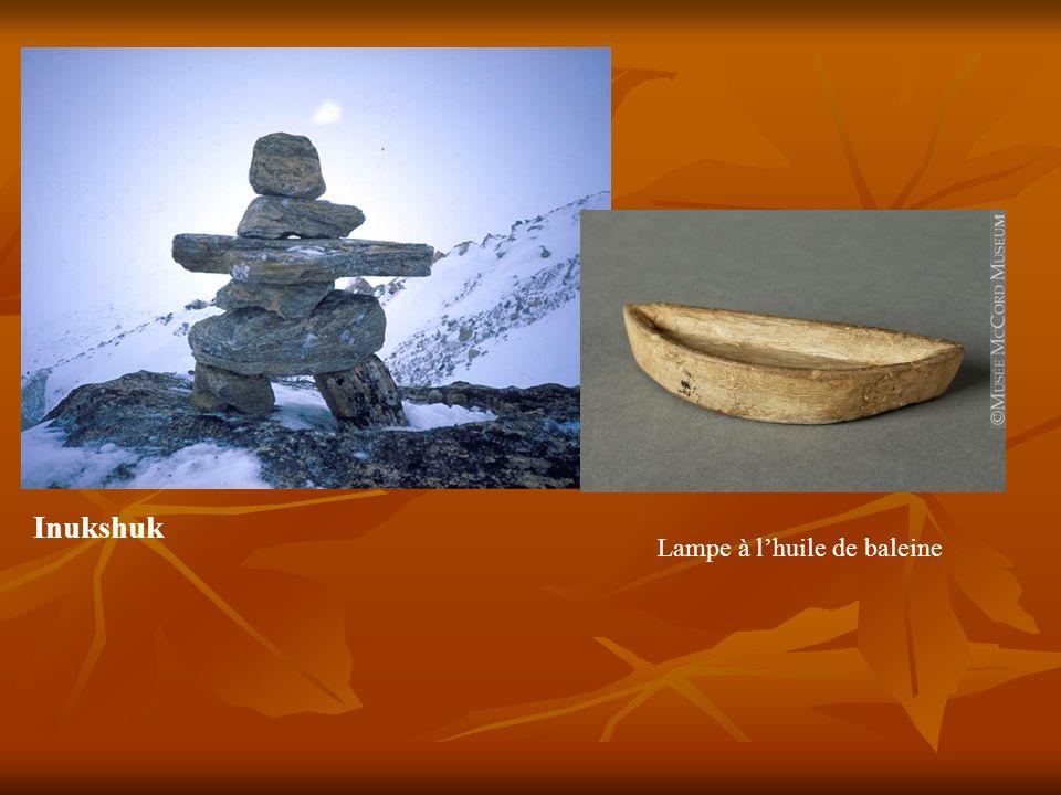 Inukshuk Lampe à l'huile de baleine