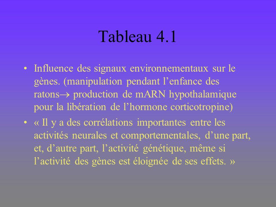 Tableau 4.1