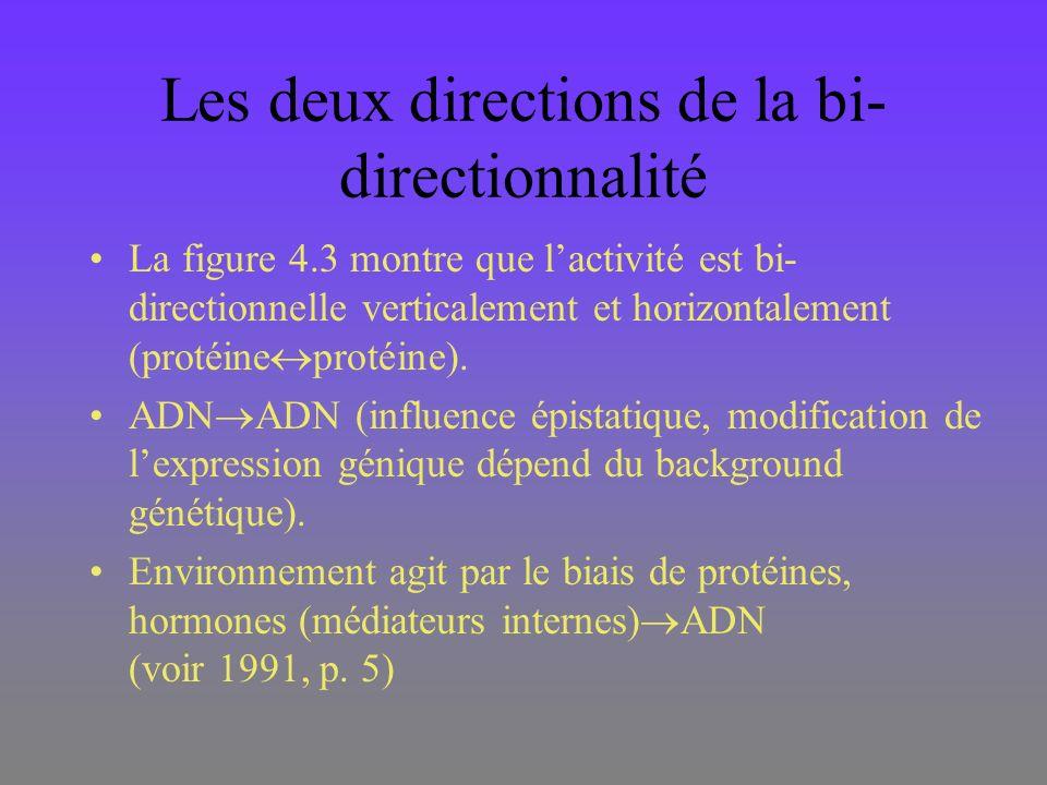 Les deux directions de la bi-directionnalité