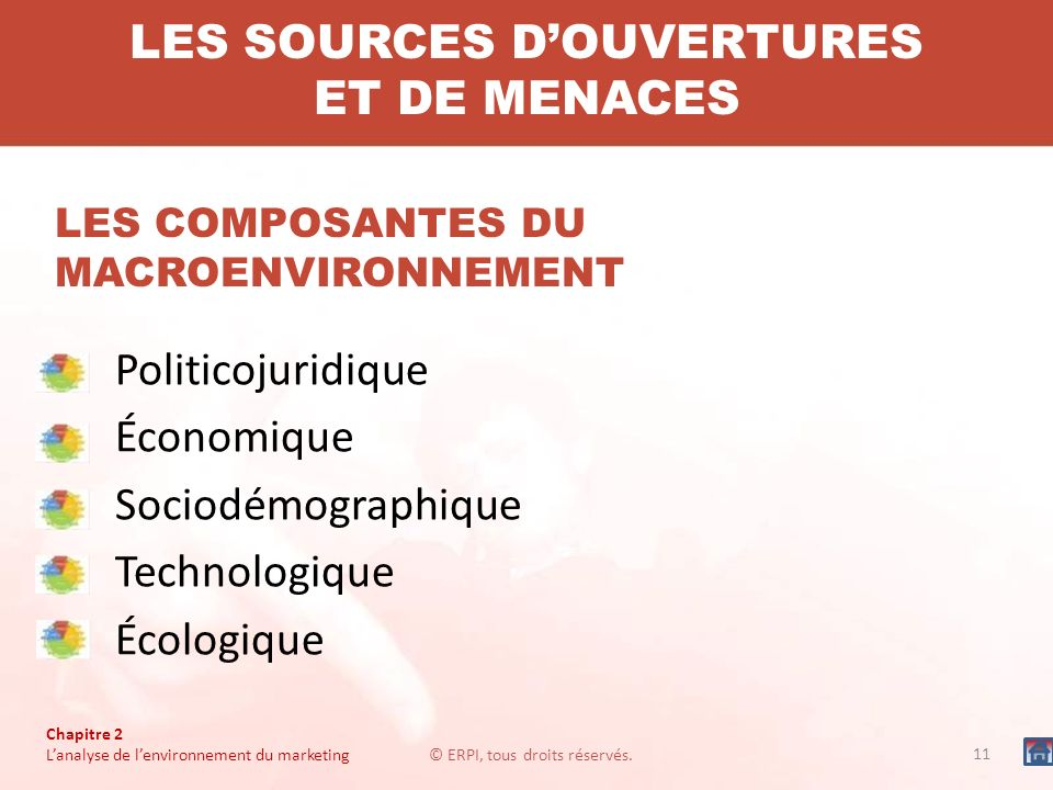 LES SOURCES D'OUVERTURES ET DE MENACES