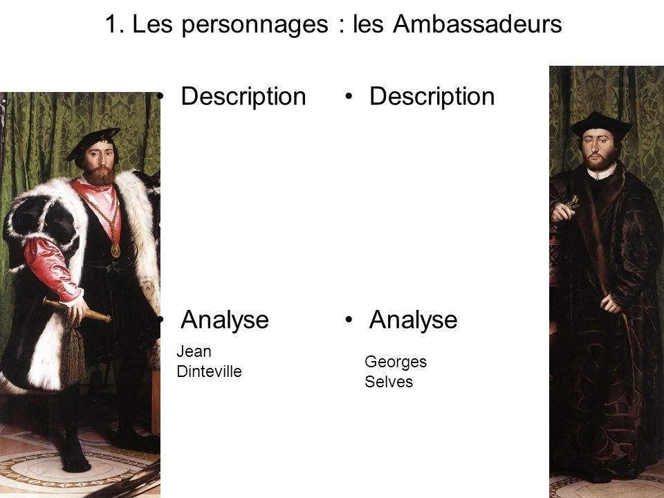 1. Les personnages : les Ambassadeurs