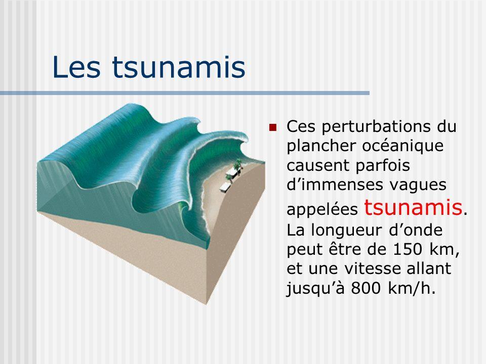 Les tsunamis